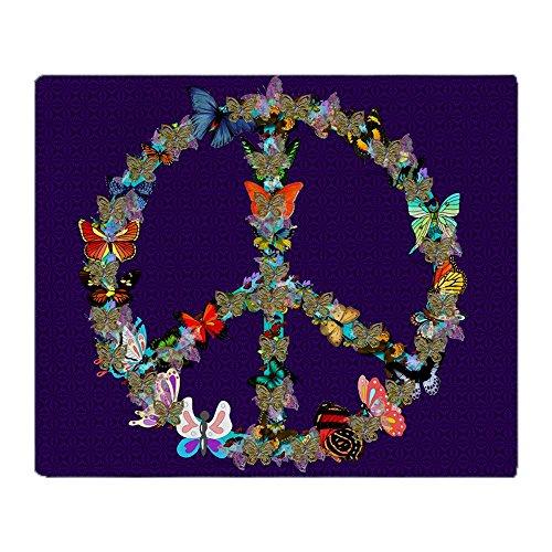 y Peace Sign Blanket 1 - Soft Fleece Throw Blanket, 50