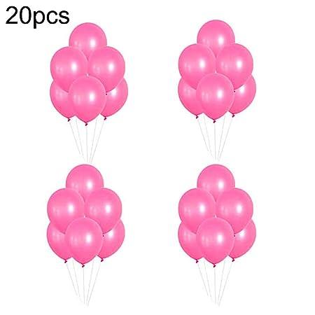 WFZ17 Globos de látex decoración de Fiestas de cumpleaños ...