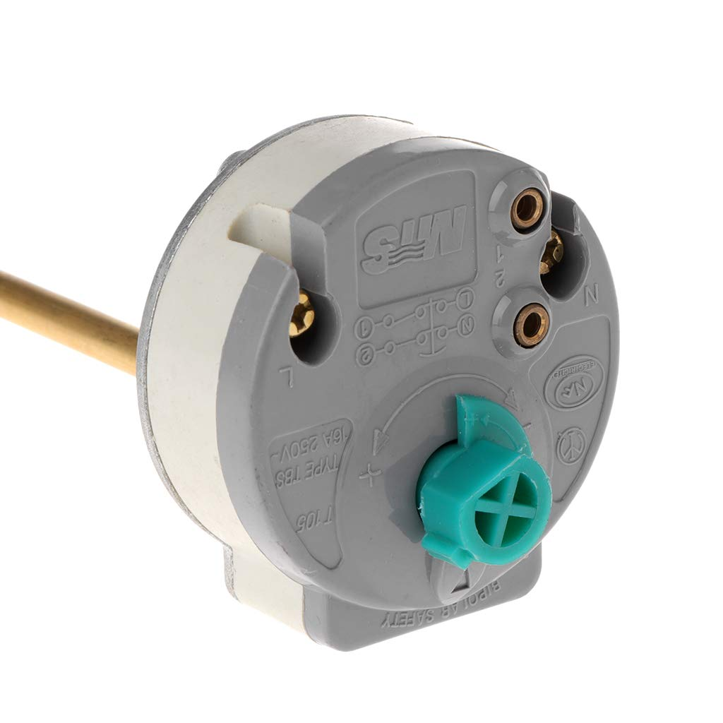 A0127 Elektrischer Warmwasserbereiter-Thermostat-Temperatursteuerungsschalter 30-80 ℃ F/ür Ariston