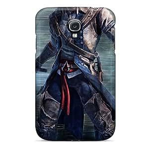 Galaxy High Quality Tpu Case/ Assassins Creed Iii IlDqPtx2313ClMTi Case Cover For Galaxy S4
