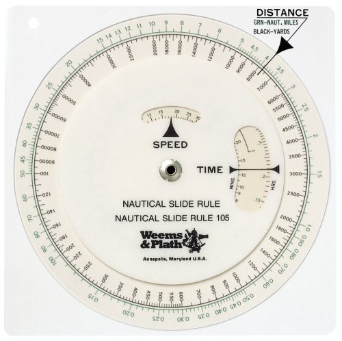 - Weems & Plath Marine Navigation Nautical Slide Rule