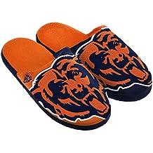 Chicago Bears Split Color Slide Slipper Medium