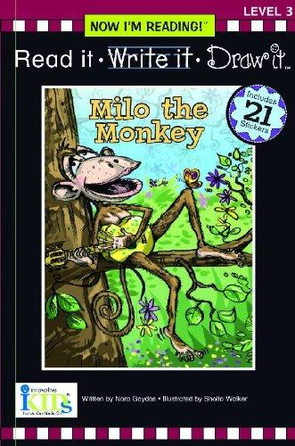 Nir! Read It, Write It, Draw It: Milo the Monkey - Level 3 (Now I Can Read!: Level 3) by Innovative Kids