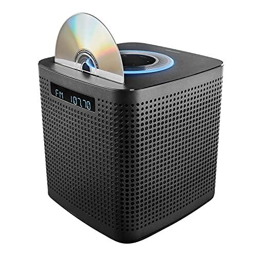 MEDION P64430 WLAN Micro Audio System met Amazon Alexa (compact systeem, 2 x 15 W RMS, PLL FM, DLNA, CD/MP3-speler…