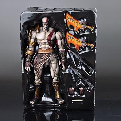 Toy  Play  Fun  Square Enix Play Arts Kai God Of War Kratos Pvc Action Figure Collectible Model Toy 22Cm Kt1785  Children  Kids  Game