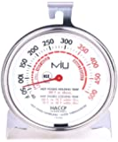 MIU France Stainless Steel Commercial Oven Thermometer