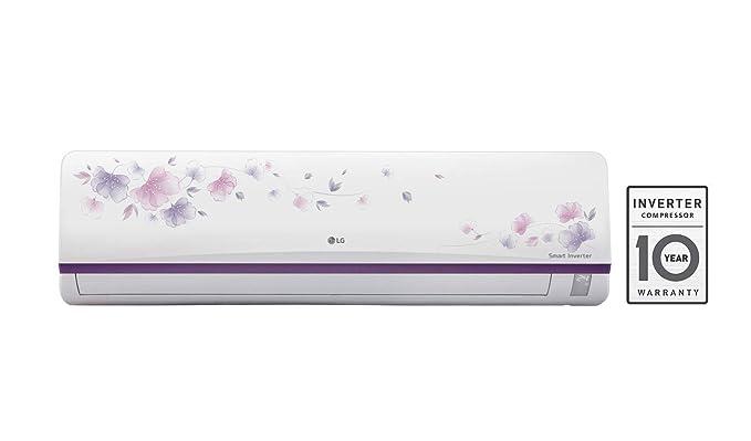 LG 1 Ton 3 Star Inverter Split AC (JS-Q12AFXD, White)
