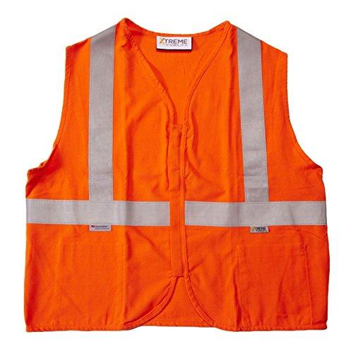 Occunomix LUX-XSBM-OXL Occulux Value Mesh Silver Bead Vest, Ladies, X-Large, (Lux Mesh Vest)