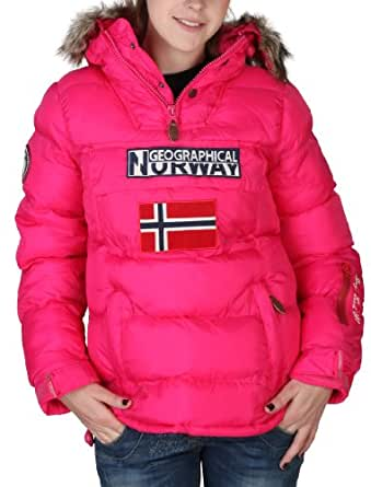 GEOGRAPHICAL NORWAY Anorak mujer Bolide rosa - mujer - S