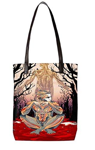 Snoogg Strandtasche, mehrfarbig (mehrfarbig) - LTR-BL-114-ToteBag