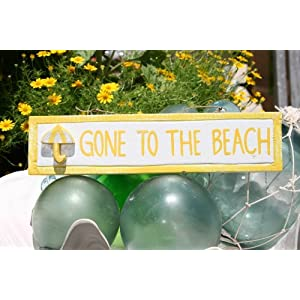 51q5BlTJAoL._SS300_ Wooden Beach Signs & Coastal Wood Signs