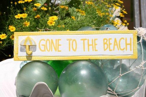 GONE-TO-THE-BEACH-NAUTICAL-SIGN-12-YELLOW-BEACH-DECOR