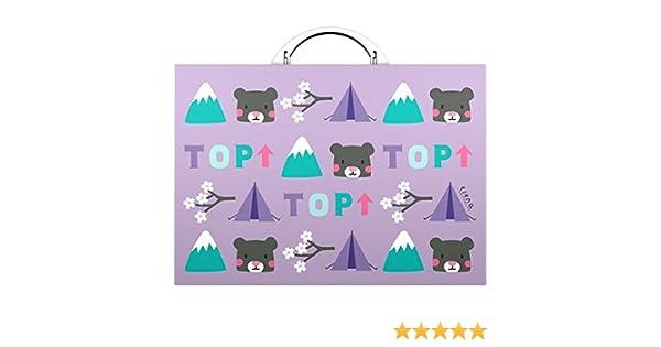 Grafoplas 37401184 - Maletín, diseño de osos: Amazon.es: Oficina y papelería