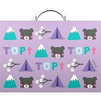 Grafoplas 37401184 - Maletín, diseño de osos