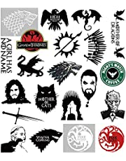 S-001 21pcs Game of Thrones Stickers Winter is Coming Fire and Blood MacBook Decal Vinyl Sticker Mac Air Pro Retina Laptop Skin