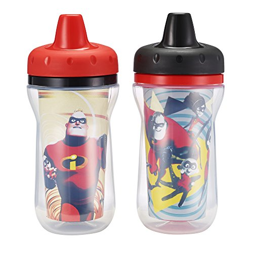 The First Years 2 Piece Disney Pixar Incredibles 2 Insulated Sippy Cups