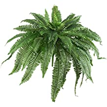 "Nearly Natural 6051-S2 48"" Boston Fern (Set of 2)"