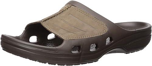 Crocs Yukon Mesa Clog, Sabots Homme Marron (Espresso
