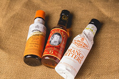 The Orange Cocktail Bitters Collection - 3 Bottles 4 This Complete Collection Includes the Best Brands of Orange Cocktail Bitters. Get Fee Brothers Orange Bitters, Regan's Orange No. 6 and Angostura Orange for one low price! Add Depth and Flavor to Your Cocktails.