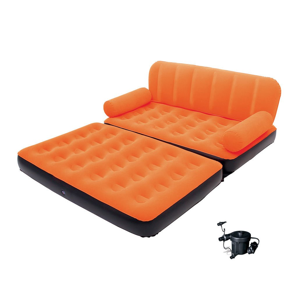 Bestway Multi-max Air Couch with Sidewinder Ac Air Pump