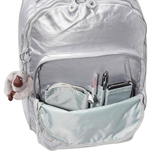 03690991b8 Kipling Women s Seoul Large Metallic Laptop Backpack One Size - Import It  All