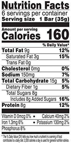 Special K Protein Snack Bars, Chocolate Peanut Pecan, 7.38 oz (6 Count)