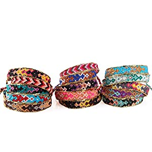 KELITCH Bohemia Tassels Friendship Bracelet Handmade Beaded Charm Bangles New Jewelry 10 PCS