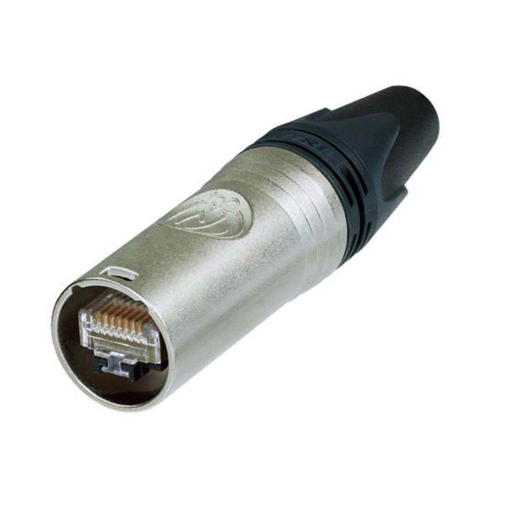 Genuine Neutrik NE8MC-B-1 Ethercon Cable Conector Heavy Duty Housing BK 4 Pack