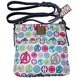 Dooney & Bourke Disney Marvel Avengers Letter Carrier Crossbody Bag
