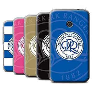 Official Queens Park Rangers FC Gel TPU Phone Case / Cover for Vodafone Smart First 7 / Pack 11pcs Design / QPR Football Club Crest Collection