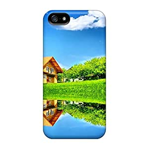 Hot Dream Summer Lovely Place First Grade Tpu Phone Case For Iphone 5/5s Case Cover