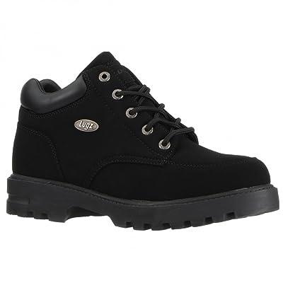 Lugz Men's Combatant Short Lace-Up Boot, Black, 10 M US