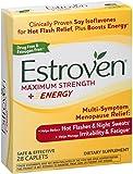 Estroven Maximum Strength Plus Energy Caplets, 28 Ea (Pack of 6)