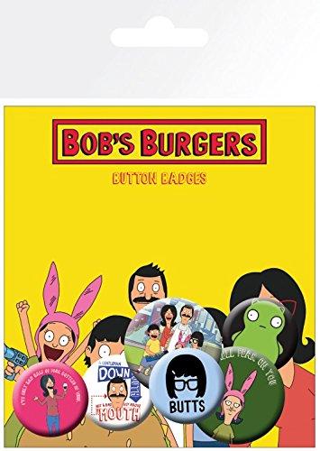32 Bob x Paquete de insignias 4 hamburguesas de mm 2 15 cm 25 y 10 mezcla de mm xBXOBfwq