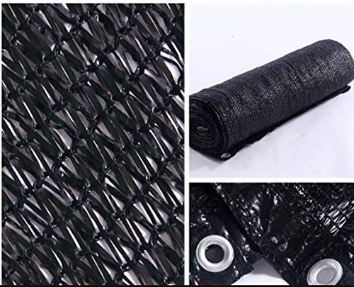 Hwpb Shading net Black shed top Floor Balcony Anti-Insulation Shading net Light Control Gardening Tools by Hwpb (Image #1)