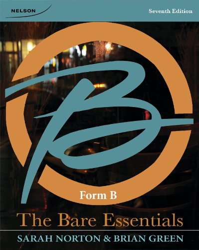 The Bare Essentials: Form B