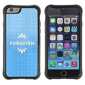 Suave TPU GEL Carcasa Funda Silicona Blando Estuche Caso de protección (para) Apple Iphone 6 PLUS 5.5 / CECELL Phone case / / BIBLE Forgiven /