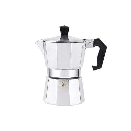 Qilo Cafetera Espresso Italiana 3/6/9 Tazas Diseño Tradicional ...