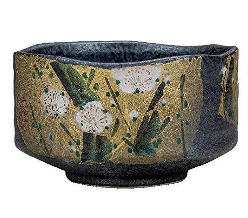 KUTANI Ware Matcha Bowl Gilt Plum by Watou.asia (Image #1)