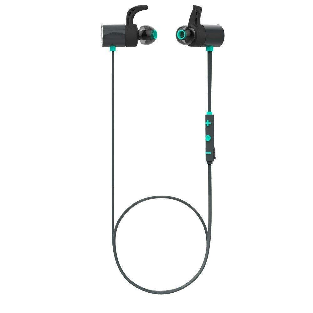 Earphone Sport In-Ear, Wireless Kopfhörer Blautooth Wasserdichte Earbuds Magnetische Headset Ohrhörer mit Mikrofon für Telefon Sportlue, Universal Phone, Music Headset