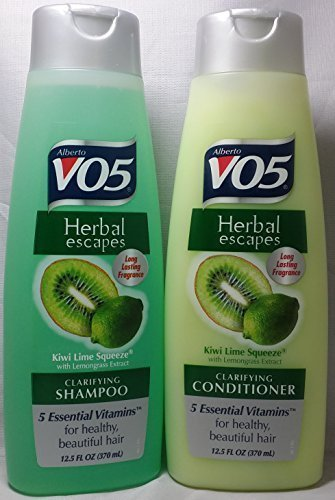 VO5 Herbal Escapes Kiwi Lime Squeeze Shampoo & Conditioner (12.5 Oz) by VO5