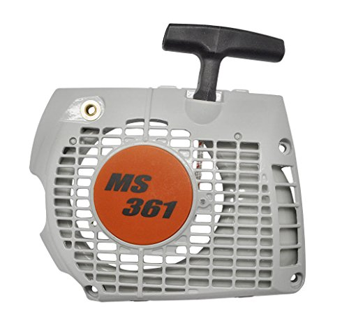 QHALEN Starter Recoil, Recoil/Rewind Pull Starter Assembly for Stihl Chainsaw MS341 MS361 Chainsaw Replacement Part#1135 080 2102/11350802102 by QHALEN