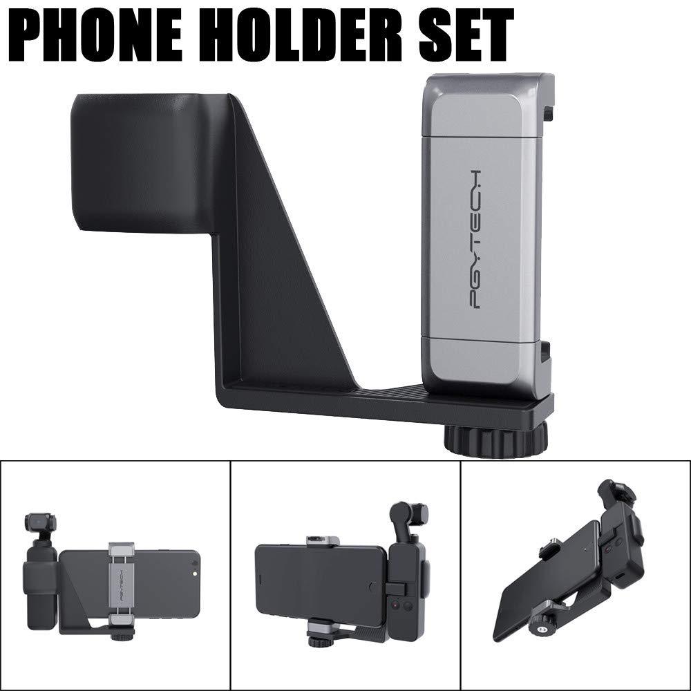 Phone Holder, LtrottedJ Handheld Phone Holder Set Mobile Bracket Set Gimbal Stand for DJI Osmo Pocket