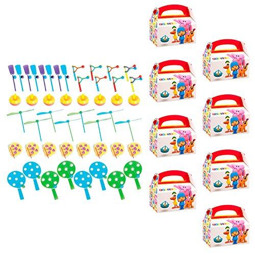 Birthday Express Kits Pocoyo Filled Favor Box Kit (for 8 -