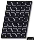 Flexipan Square 2.03 Oz, 56mm x 56mm x 24mm Deep (2-3/16 2-3/16'' x 1 Deep), 35 Cavities