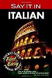 Say It in Italian, Olga Ragusa and Dover Staff, 0486208060