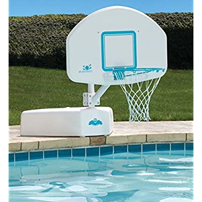 Dunnrite Splash and Shoot Swimming Pool Basketball Hoop with Stainless Steel Rim (B600): Sports & Outdoors