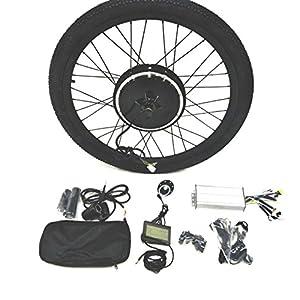 51q5IWUIKeL. SS300 36V500W Hub Motor Ebike Kit Conversione Bici Elettrica + Tire + LCD Display Theebikemotor