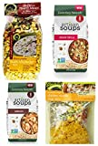 Soup Lovers Bundle #2: (1) Frontier Soups Chicken Noodle, (1) Frontier Soups Corn Chowder, (1) Canterbury Naturals Tortilla and (1) Canterbury Naturals Jambalaya, 4.5-9 Oz Each (4 Bags Total) Review