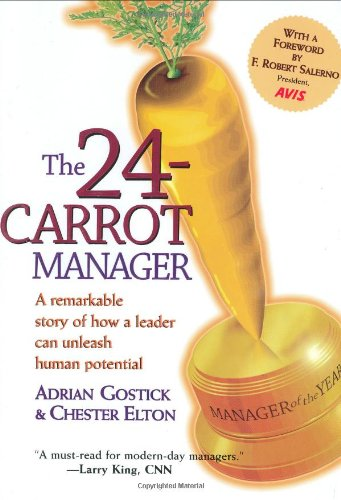 24 Carrot Manager Adrian Gostick product image
